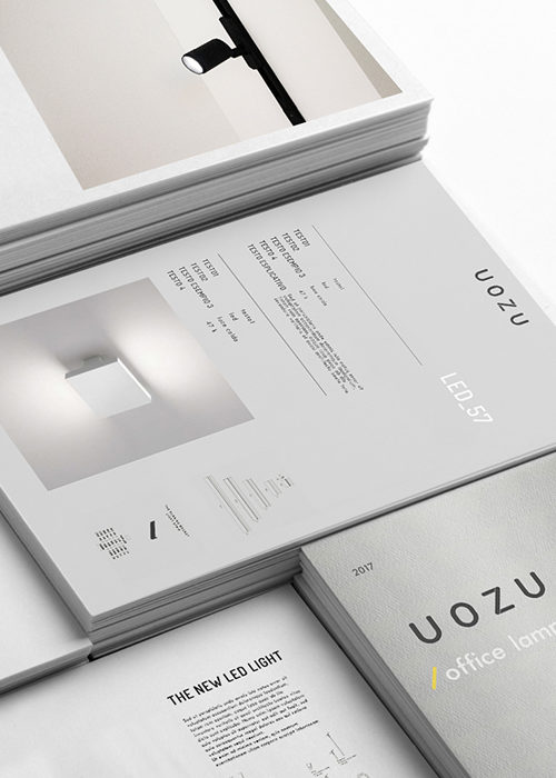 StudioBulbo_Uozu_logo design catalogue visual identity